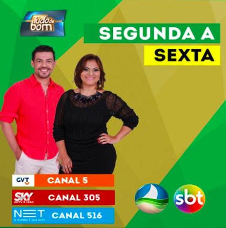 Tudo de Bom - TV Alagoas SBT - Blog Fit Food Ideas