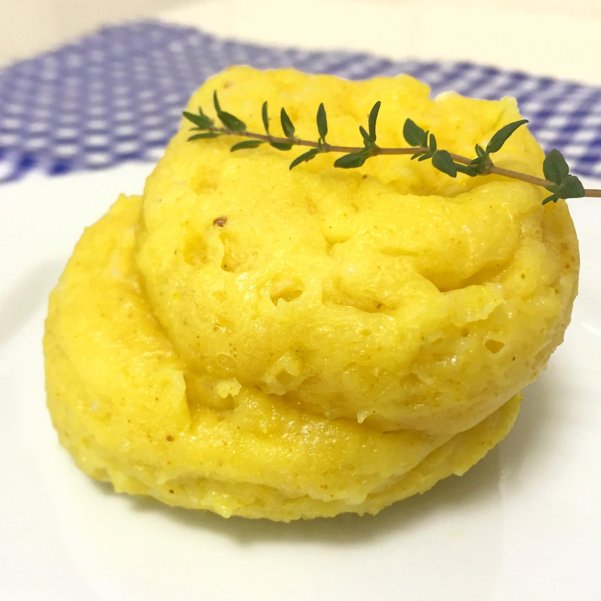 Pão de queijo de caneca - Blog Fit Food Ideas
