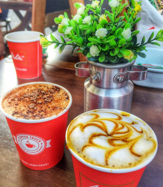 Café coado - Coffee truck Melitta- Blog Fit Food Ideas