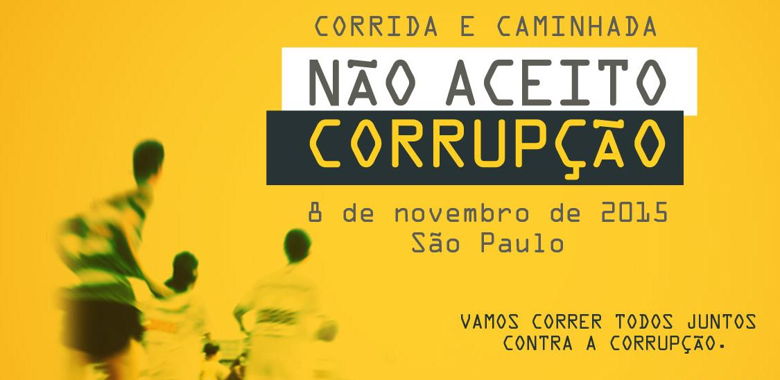 1ª Corrida e Caminhada Não Aceito Corrupção