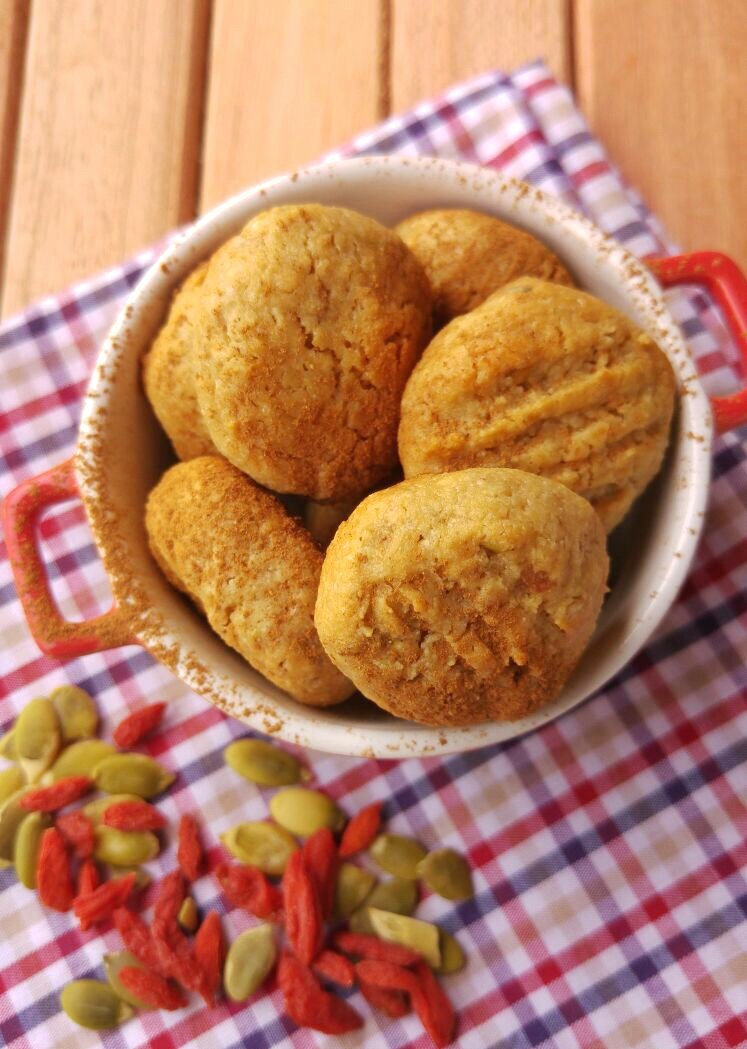 Cookies de Gojiberry - Chef Bruna Pavão - Blog Fit Food  Ideas