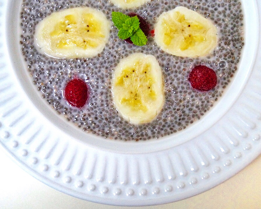 Pudim de chia - Blog Fit Food Ideas