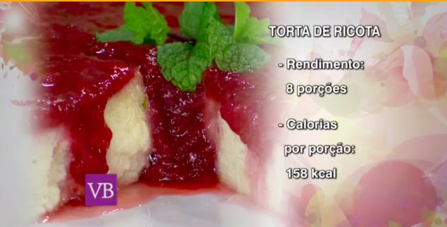 Torta de Ricota - Blog Fit Food Ideas
