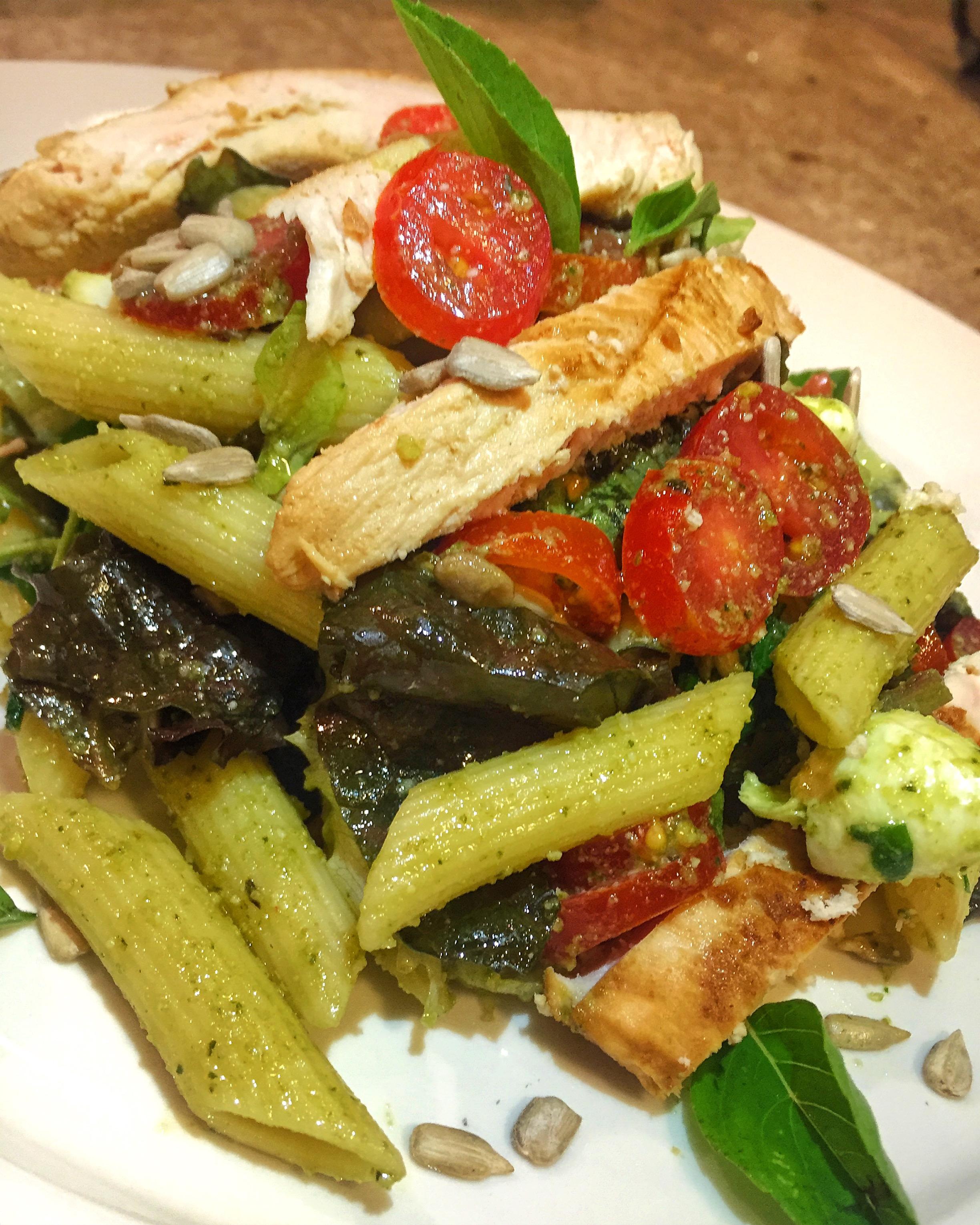 Salada Penne FishFire Ideas