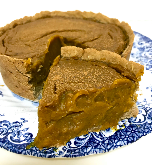 Pumpkin pie - Sem açúcar - Blog Fit Food Ideas
