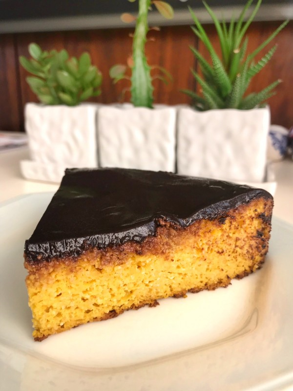 Bolo de cenoura Low Carb