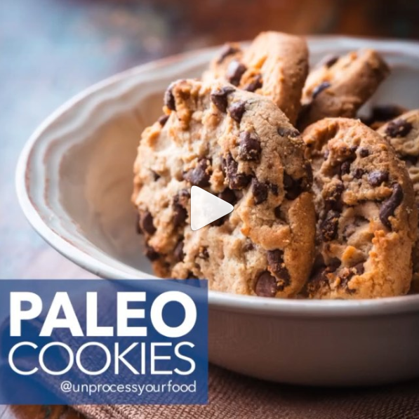 Paleo Cookies - By Dash - Fit Food Ideas