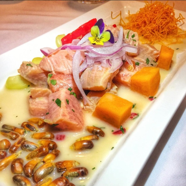 Ceviche no SUMAQ Hotel - Blog Fit Food Ideas