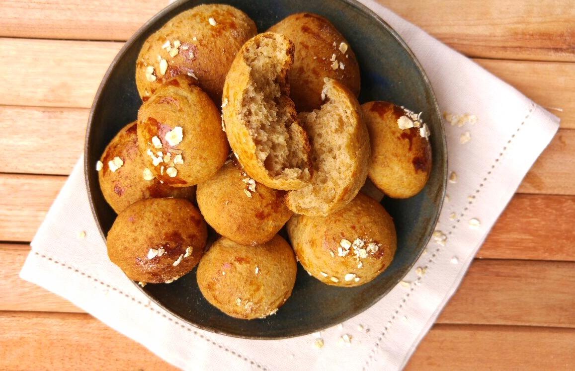 Pão integral de aveia - Chef Bruna Pavão - Blog Fit Food Ideas