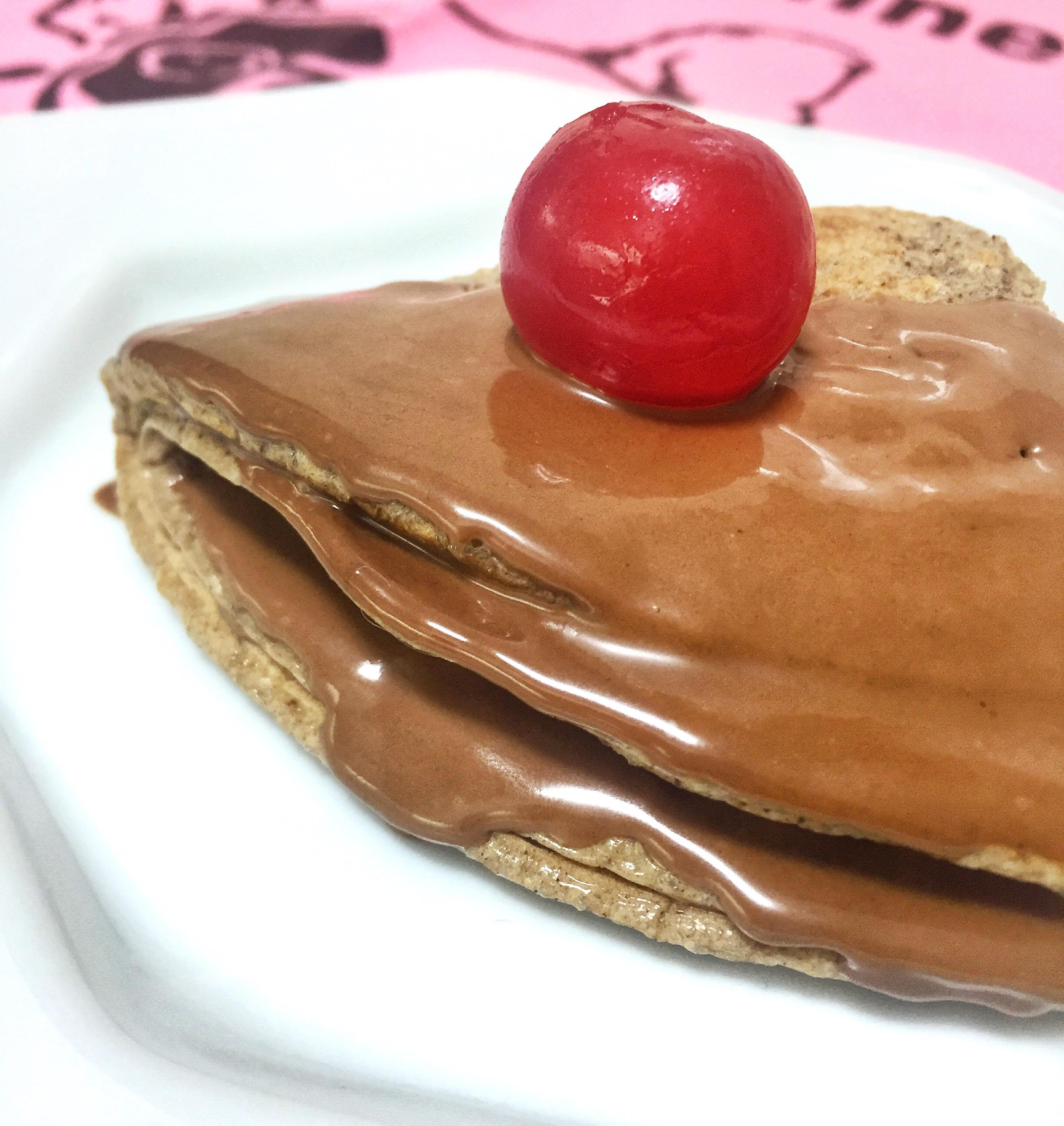 Panqueca Fit com amêndoas - Blog Fit Food Ideas